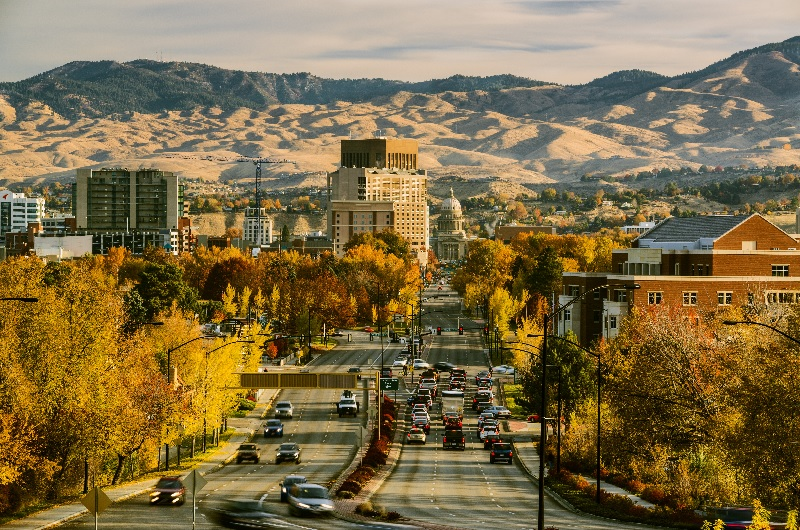 Boise's robust economy and outdoor views make it optimal for employees in remote positions.